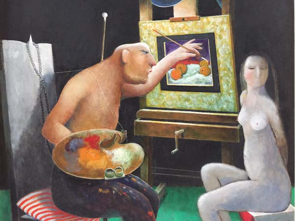 Henry Wanton JONES - The Man who painted Oranges