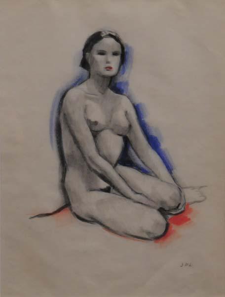 Jean Paul LEMIEUX - Nu féminin (c. 1930)