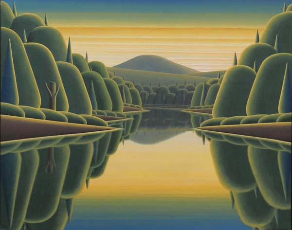 Christian DEBERDT - Porte-arrière du Lac Orford (2007)