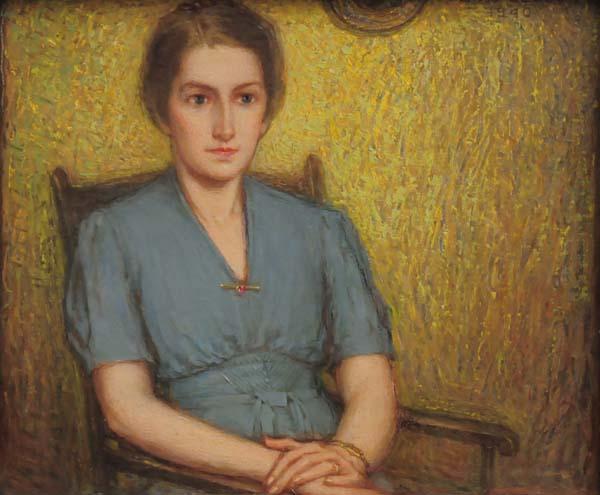 Ozias LEDUC - Portrait de Mademoiselle B (1941)