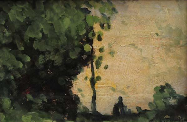 Marc-Aurèle FORTIN - Sans titre (Coucher de soleil) c. 1920