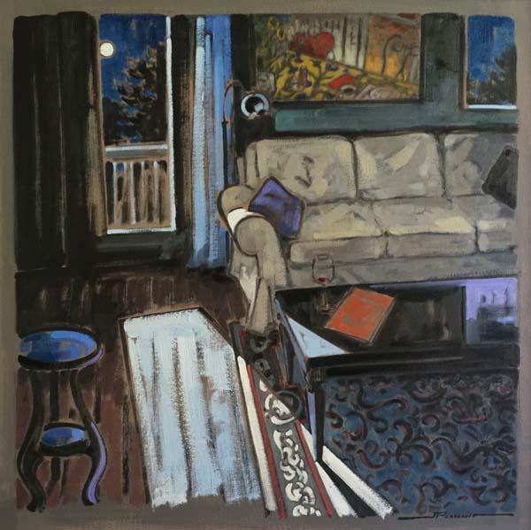 Jeannette PERREAULT - La nuit