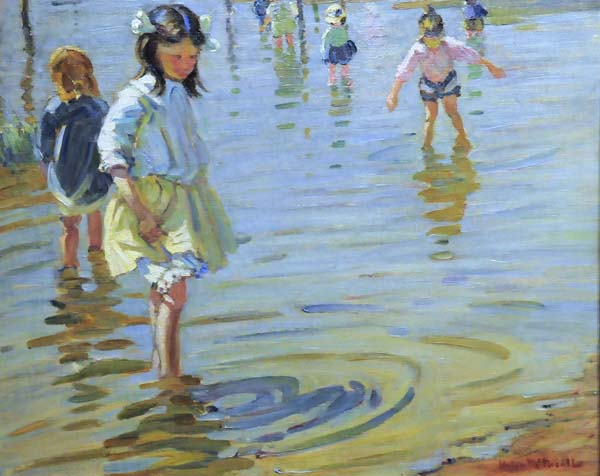 Helen MCNICOLL - By the Lake (1912)