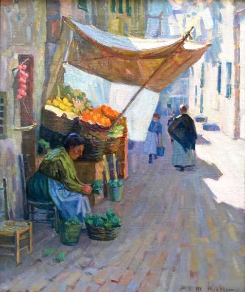 Fruit Vendor (c. 1910) - Helen McNicoll
