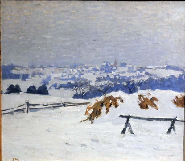 Helen MCNICOLL - In the Laurentians (c. 1910)