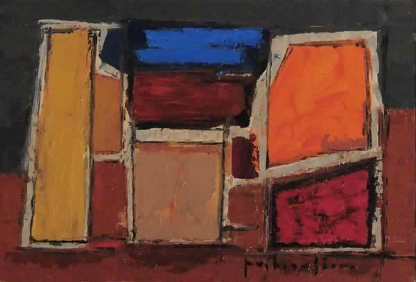 Paul-Vanier BEAULIEU - Paysage (1959)