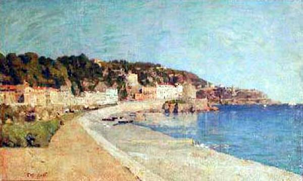 Charles HUOT - Riviera, Nice (c.1880)