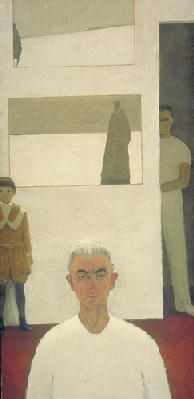 Jean Paul LEMIEUX - Autoportrait-1974-