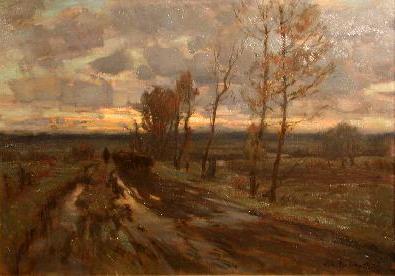 Soir de novembre (1922) - Marc Aurèle Suzor-Côté