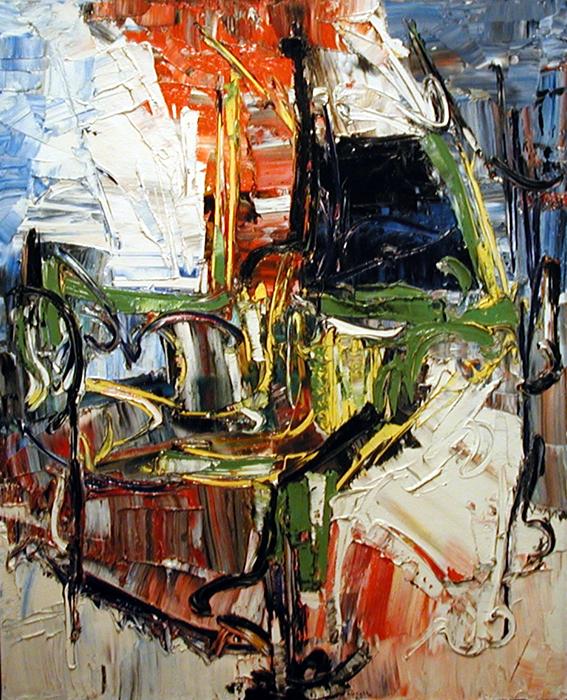 Le chemin des roses (1961) - Jean-Paul Riopelle