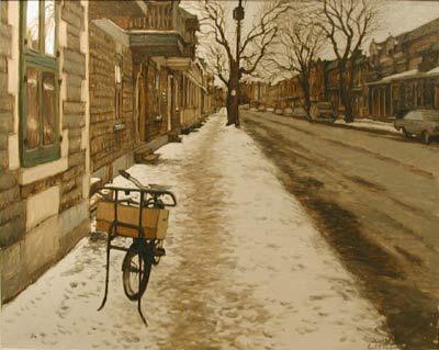 John LITTLE - Rue Chambord, Montréal (1979)