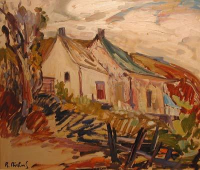 La maison Dufour (c.1955) - René Richard
