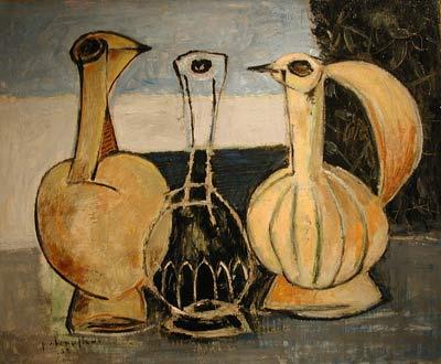 Paul-Vanier BEAULIEU - Les trois carafes (1952)