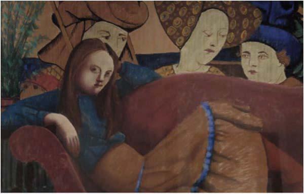 Louise SCOTT - La méridienne (1979)