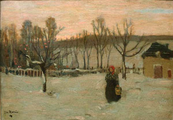 Towards Evening, Beaupré (c. 1905) - James Wilson Morrice