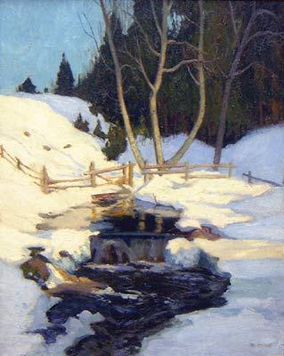La fonte des neiges (c. 1930) - Maurice Cullen