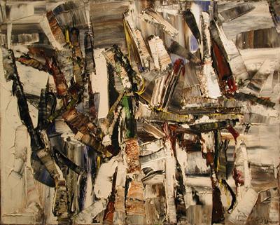Tremble (1959) - Jean-Paul Riopelle