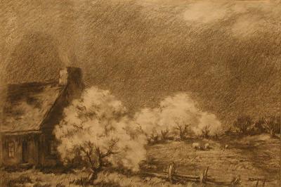 Pommiers en fleurs - Rodolphe Duguay
