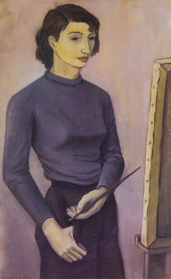 Solange LEGENDRE - Autoportrait (1953)