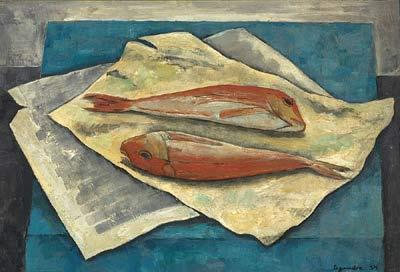 Solange LEGENDRE - Les deux rougets (1954)