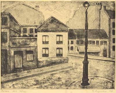 Solange LEGENDRE - Place des Fêtes (1953)