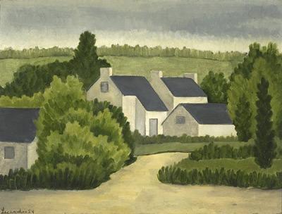 Maisons à Carnac (1954) - Solange Legendre