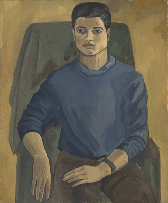 Solange LEGENDRE - Portrait de Pierre de Parrocel (1955)