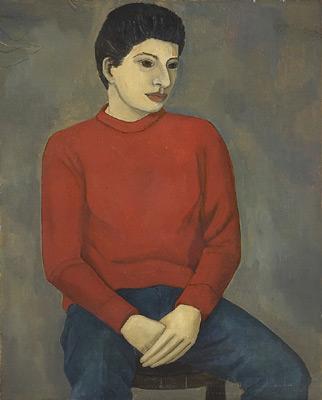 Portrait de Xavière - Solange Legendre