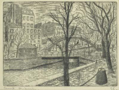 Canal Saint-Martin - Solange Legendre