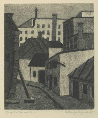 Rue du Maure (1953) - Solange Legendre
