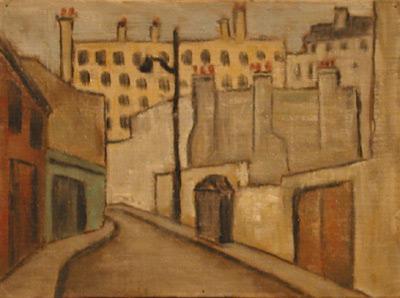 Solange LEGENDRE - Rue du Réverbère (1953)