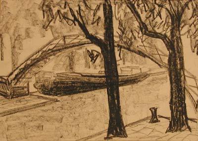 Canal Saint-Martin (1954) - Solange Legendre