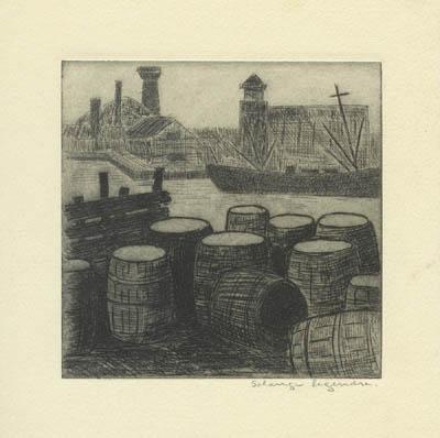 Solange LEGENDRE - Barils (1950)