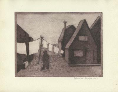 Corde à linge (1950) - Solange Legendre