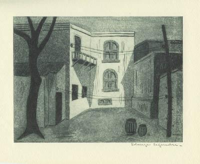 Cour Lorca (1949) - Solange Legendre