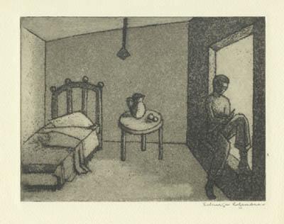 Solange LEGENDRE - Garçon lisant