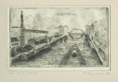 Solange LEGENDRE - La Villette (1955)