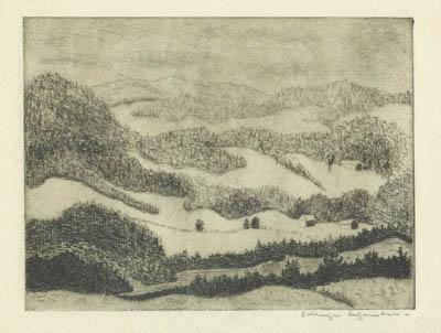Solange LEGENDRE - Montagnes