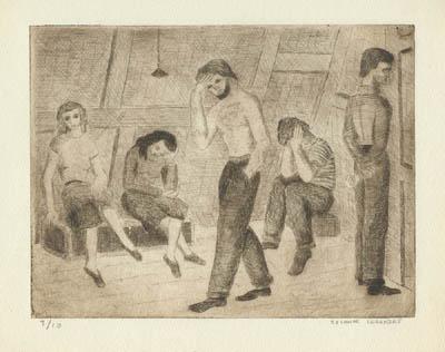 Solange LEGENDRE - Morts sans sépultures (1949)
