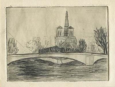 Solange LEGENDRE - Notre Dame de Paris 1
