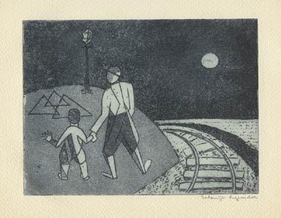 Rails sous la lune - Solange Legendre