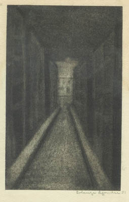 Solange LEGENDRE - Rue Noire (1951)