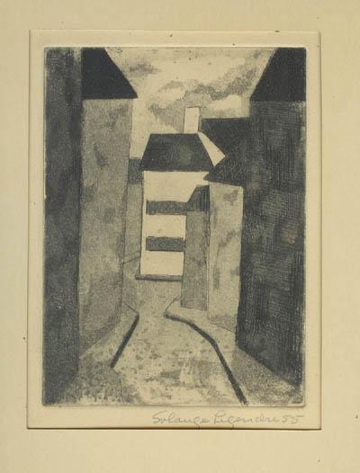 Rue vide (1955) - Solange Legendre