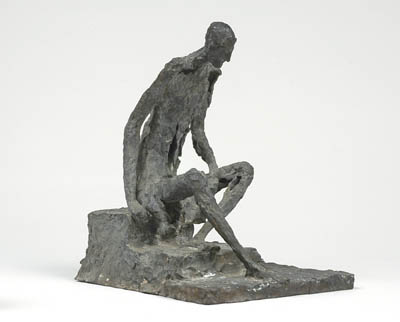 Sylvia LEFKOVITZ - Seated man
