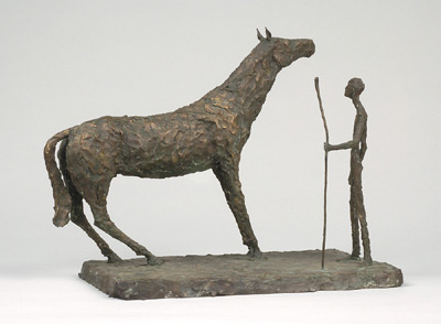 Horse and man - Sylvia Lefkovitz