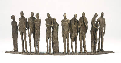 People- 12 figures - Sylvia Lefkovitz