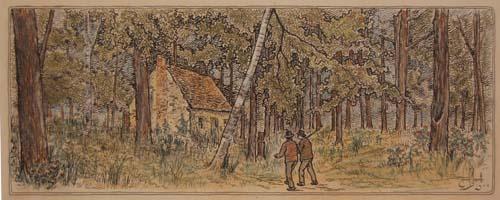 La maison hantée (1905) - Edmond Massicotte