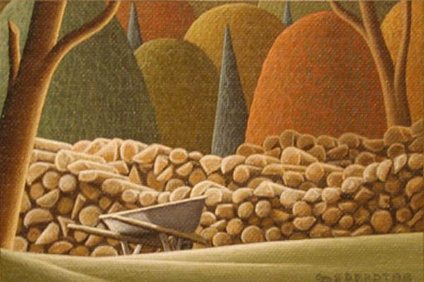 Christian DEBERDT - Cordage de bois (1988)