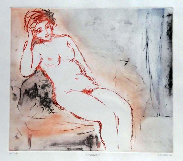 Stanley COSGROVE - L attente (poèmes érotiques) 1980