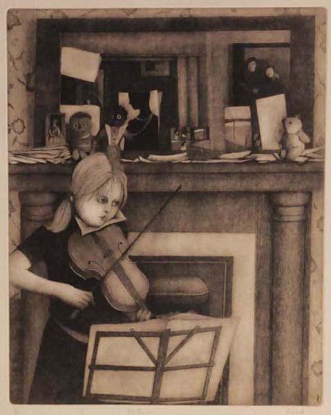 Violinist (1984) - Louise Scott